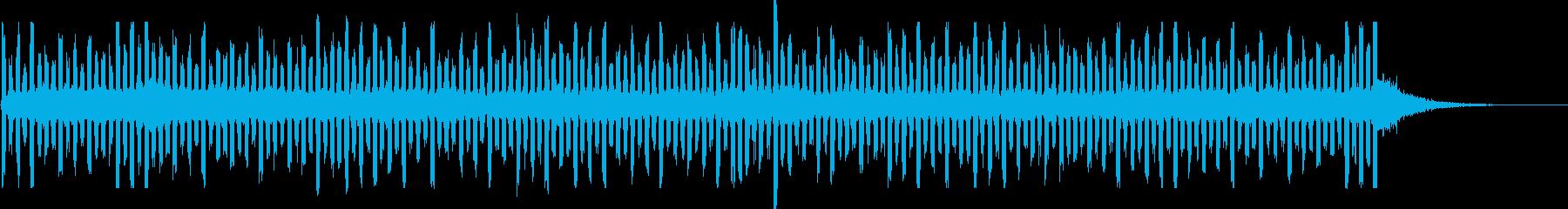 スペースビーコンの再生済みの波形