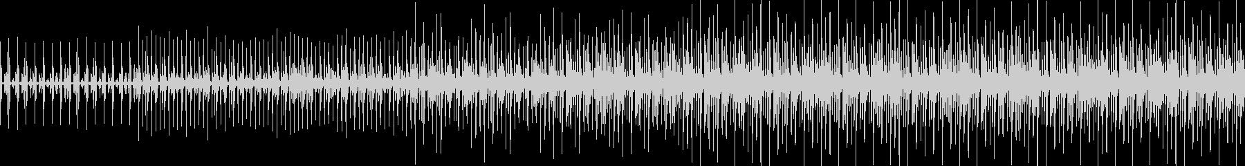 ループ可 民族音楽でリズムだけのBGMの未再生の波形