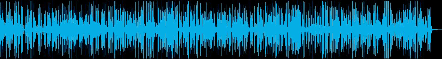 素敵で軽快なアコースティックジャズピアノの再生済みの波形