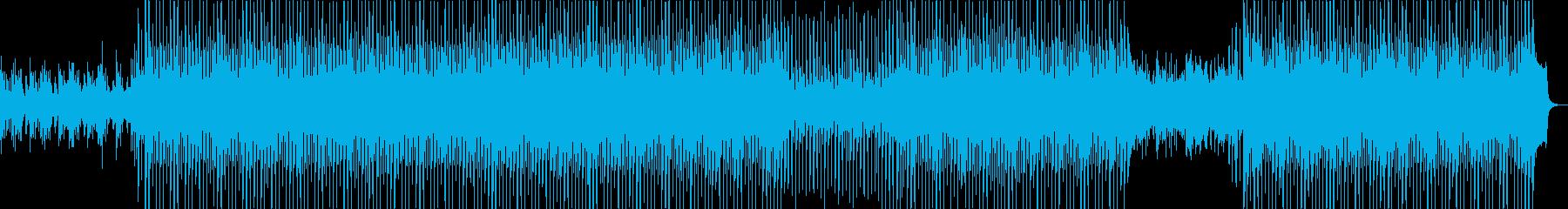 明るく爽やかな前向きなピアノのストリングの再生済みの波形