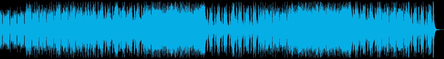 和楽器・和風・サムライヒーロー:尺八琴抜の再生済みの波形