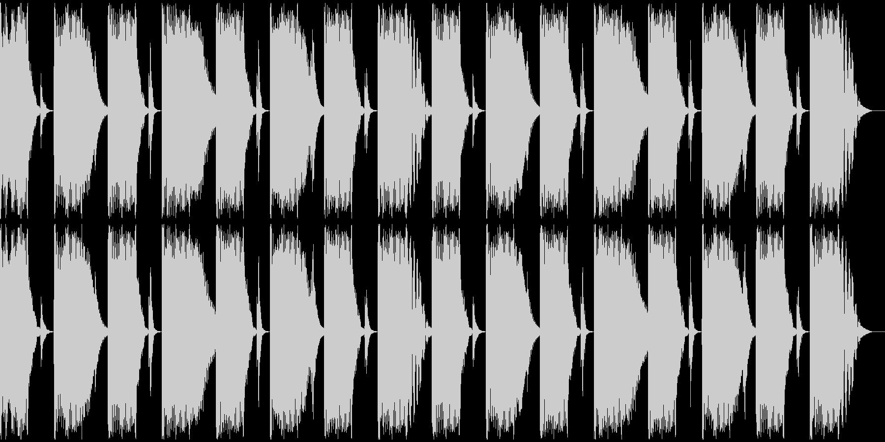【エレクトロニカ】ロング2、ショート4の未再生の波形