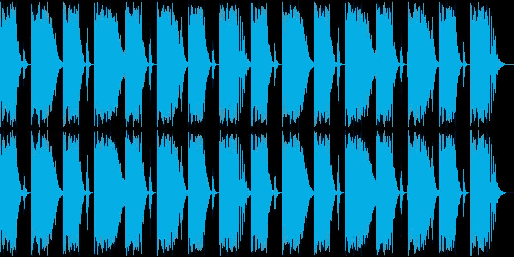 【エレクトロニカ】ロング2、ショート4の再生済みの波形