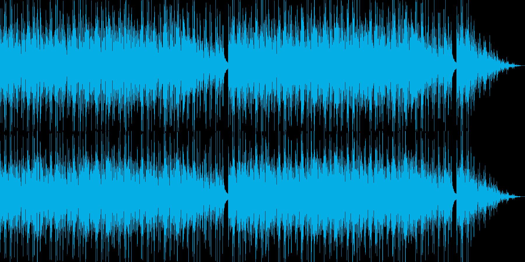 和風 町のお祭りの再生済みの波形