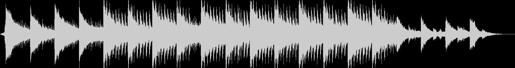 神秘的リラックス…雪のようなピアノ③の未再生の波形