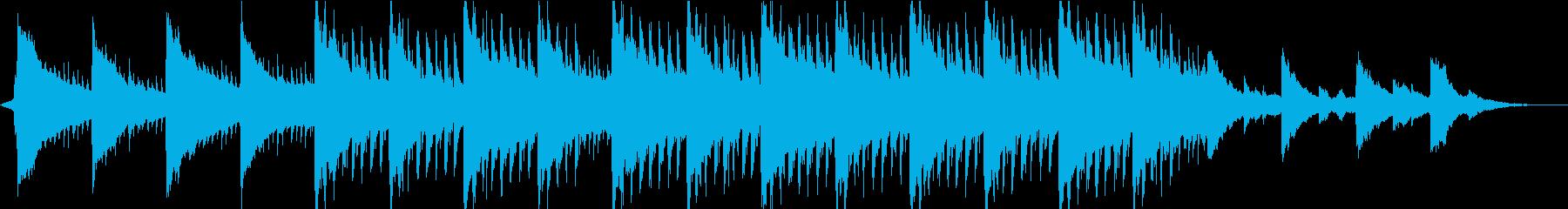 神秘的リラックス…雪のようなピアノ③の再生済みの波形