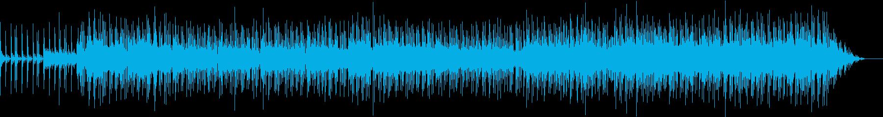 90年代風ポップスの再生済みの波形