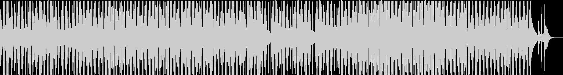 陽気な口笛のカントリーミュージックの未再生の波形