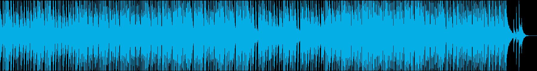 陽気な口笛のカントリーミュージックの再生済みの波形