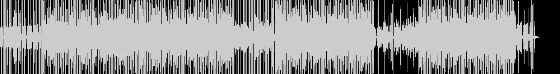 日常系80年代風テクノ・ポップの未再生の波形