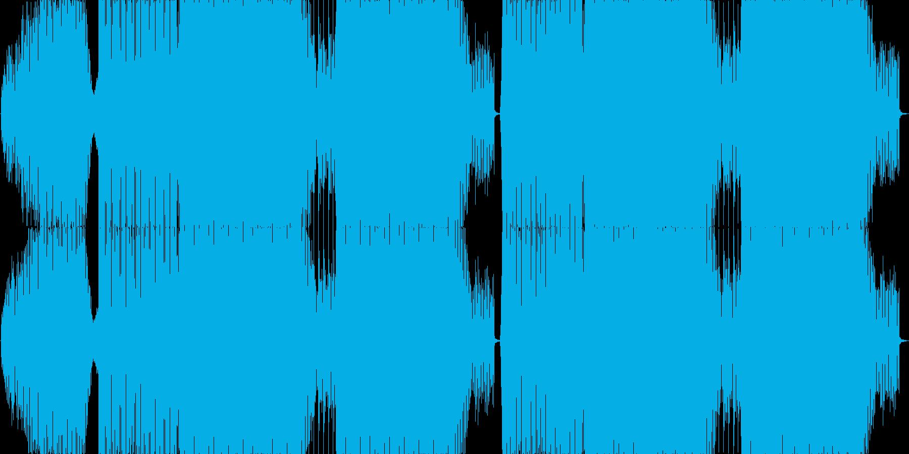 爽やかなで疾走感のあるEDMロングの再生済みの波形