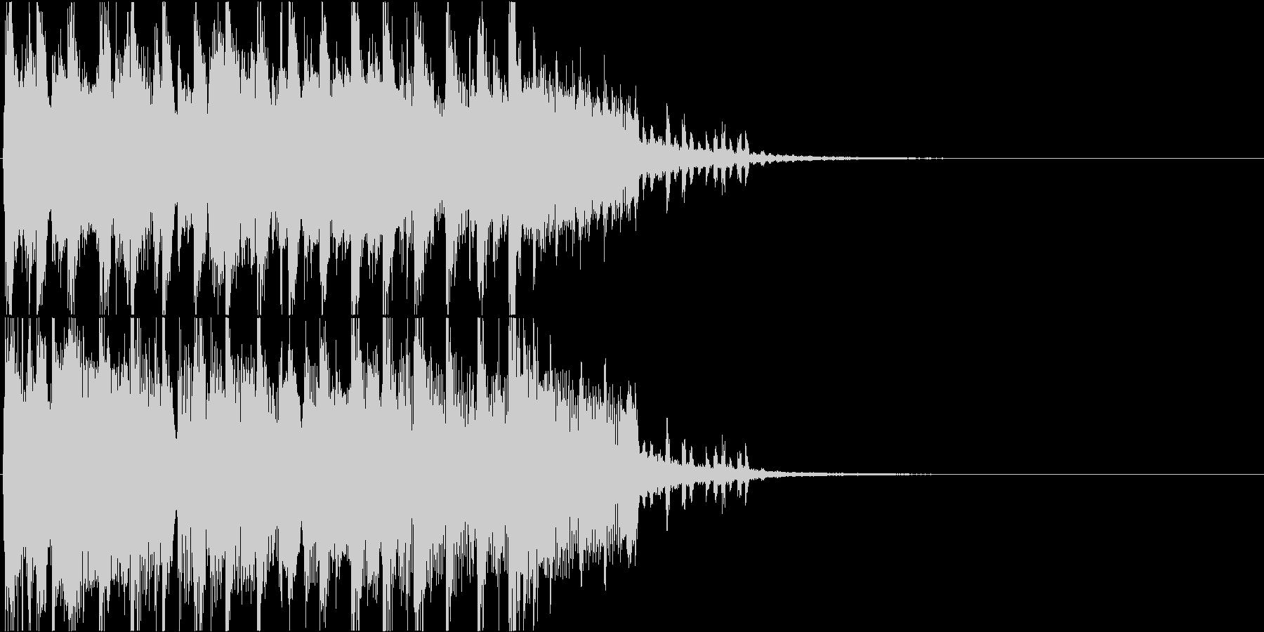 クール・エモい雰囲気のEDMなジングルの未再生の波形