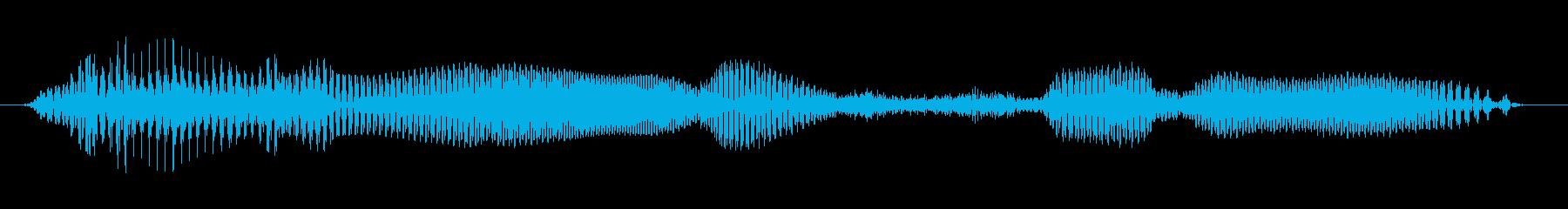 ラウンド3の再生済みの波形
