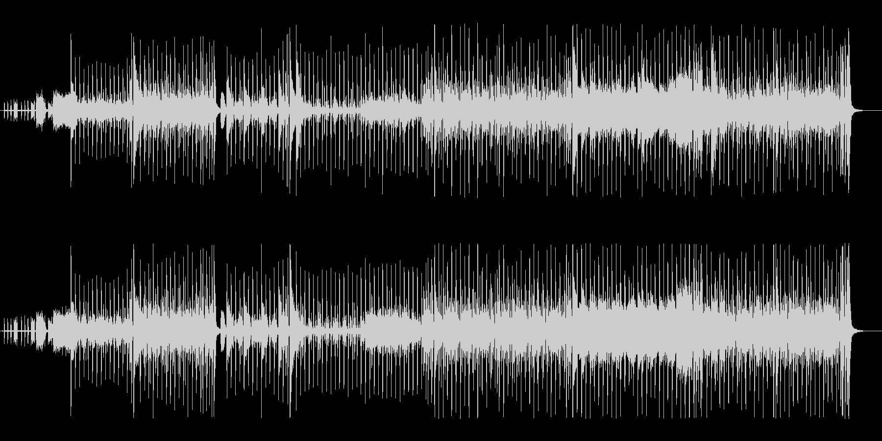 ファンク。フュージョン80年代。進...の未再生の波形