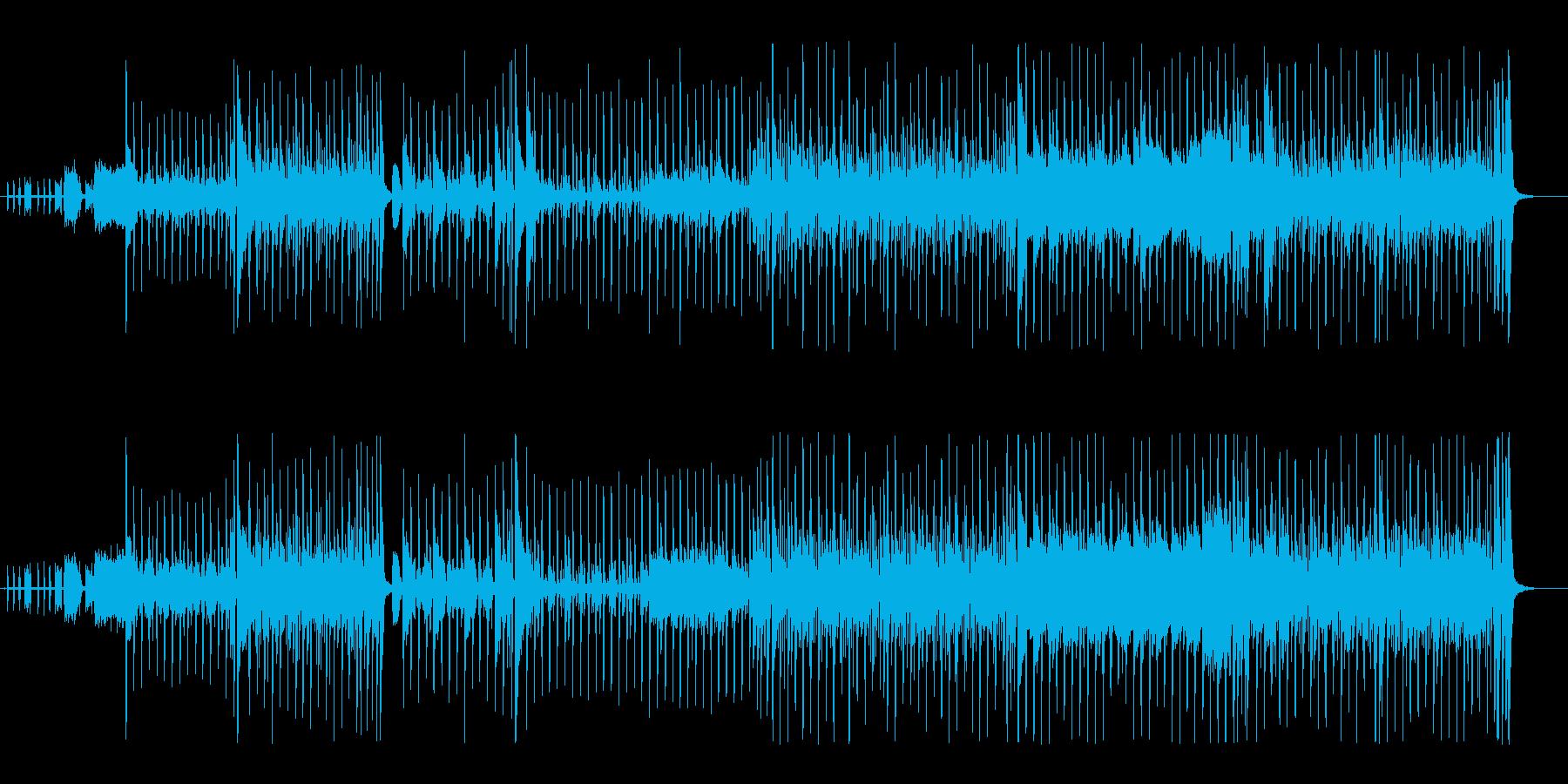 ファンク。フュージョン80年代。進...の再生済みの波形