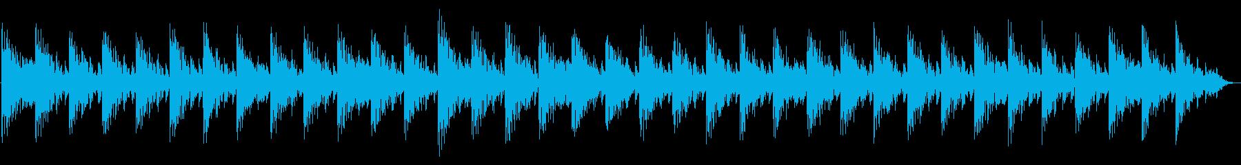 エレクトリックピアノと不気味なパッ...の再生済みの波形