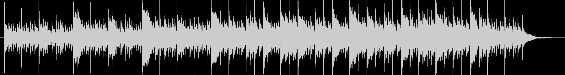 アンビエントミュージック 淡々 憂...の未再生の波形