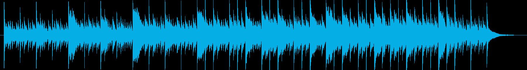 アンビエントミュージック 淡々 憂...の再生済みの波形
