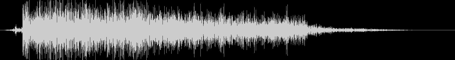 ビシュッの未再生の波形
