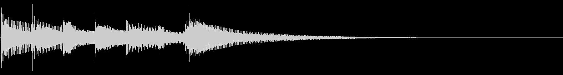 穏やかなアコギ【セーブ・場面転換】の未再生の波形
