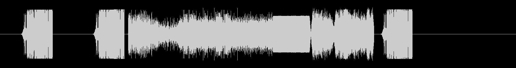 FMジングル風 効果音 シンセの未再生の波形