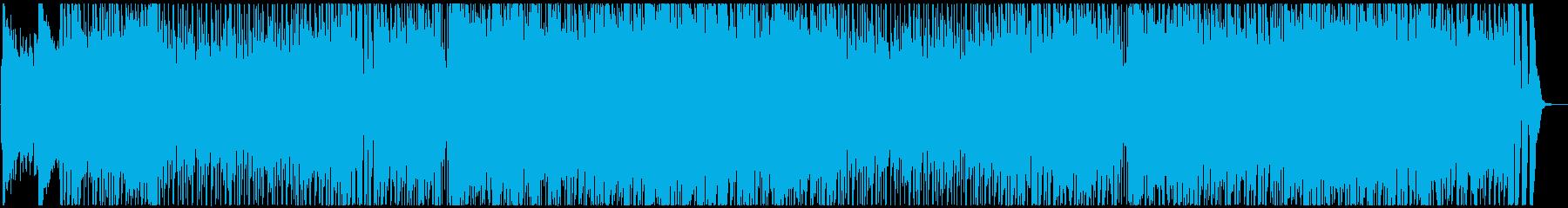 自然な雰囲気の明るいポップロックの再生済みの波形