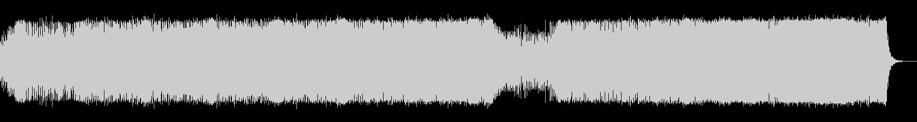 bpm147の賑やかなトランスの未再生の波形