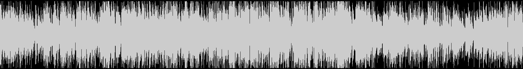 ゆるい優しいジャズSax生録 ※ループ版の未再生の波形