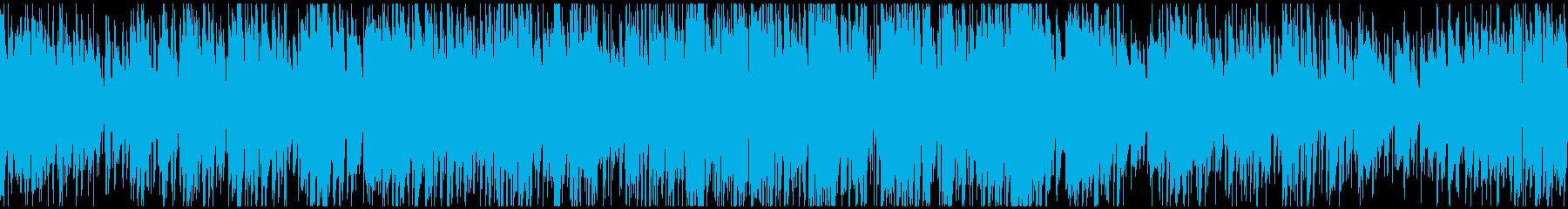 ゆるい優しいジャズSax生録 ※ループ版の再生済みの波形