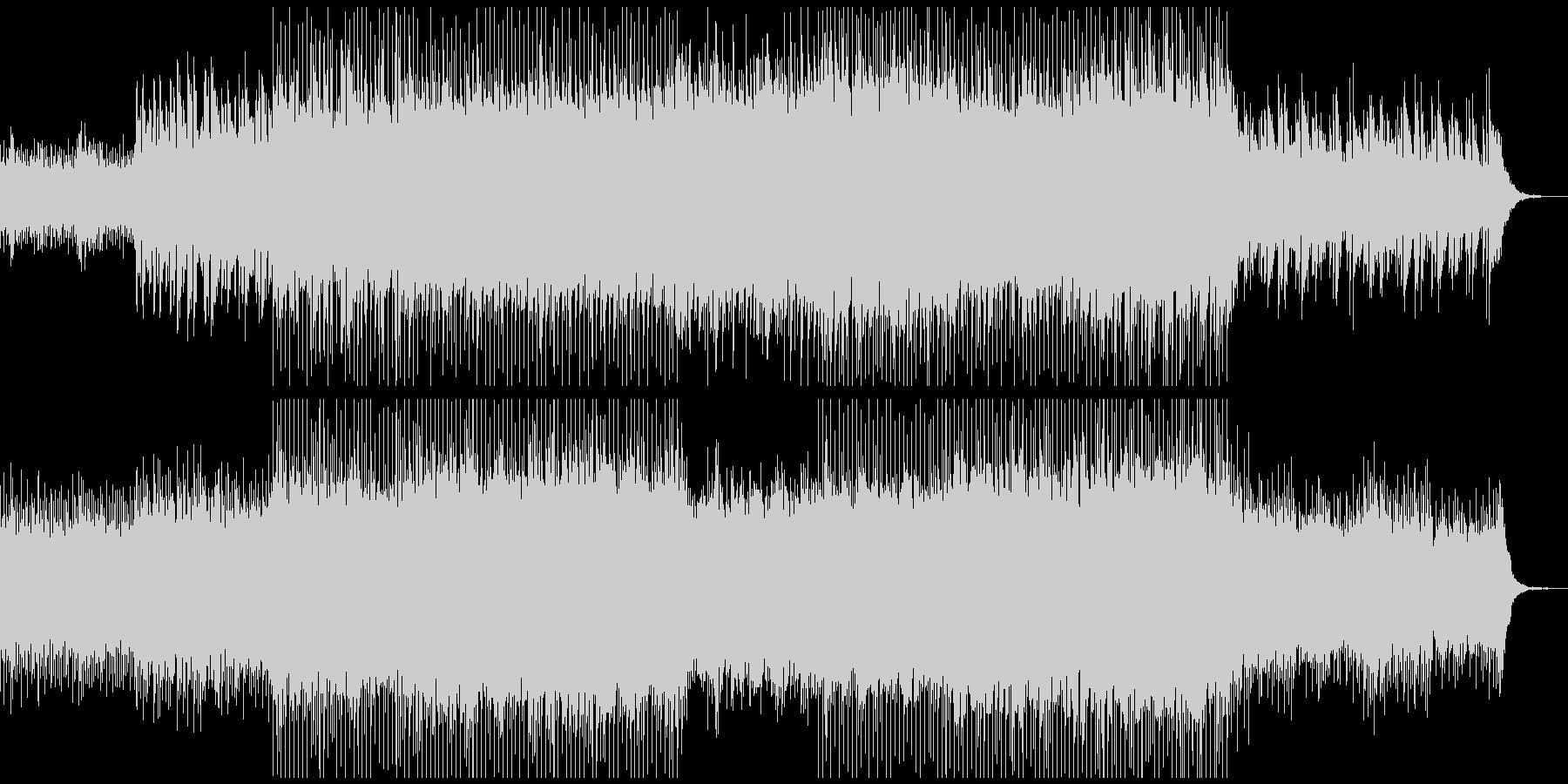 ピアノがきらきら綺麗なBGM3の未再生の波形