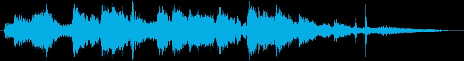 ジャズサックスがセクシーな夜のジングルの再生済みの波形