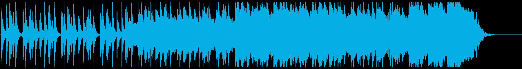 ストンプ(ボディパーカッション)+ギターの再生済みの波形