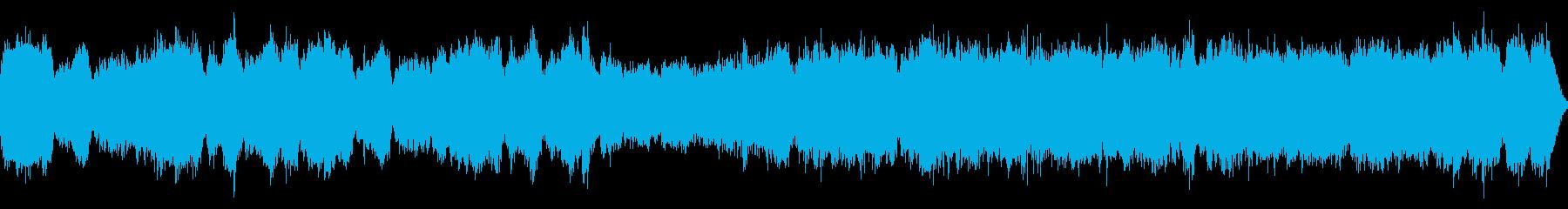 パイプオルガン・コーラス明るい曲・ループの再生済みの波形