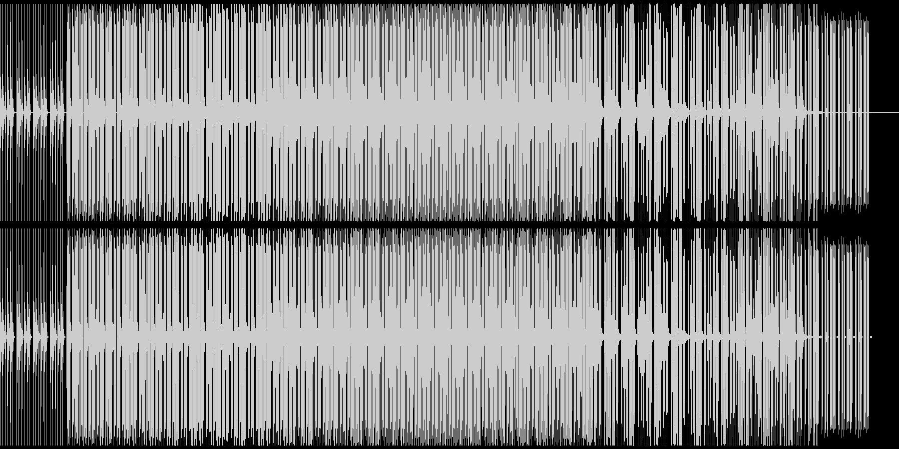 スローでダウナーなの未再生の波形