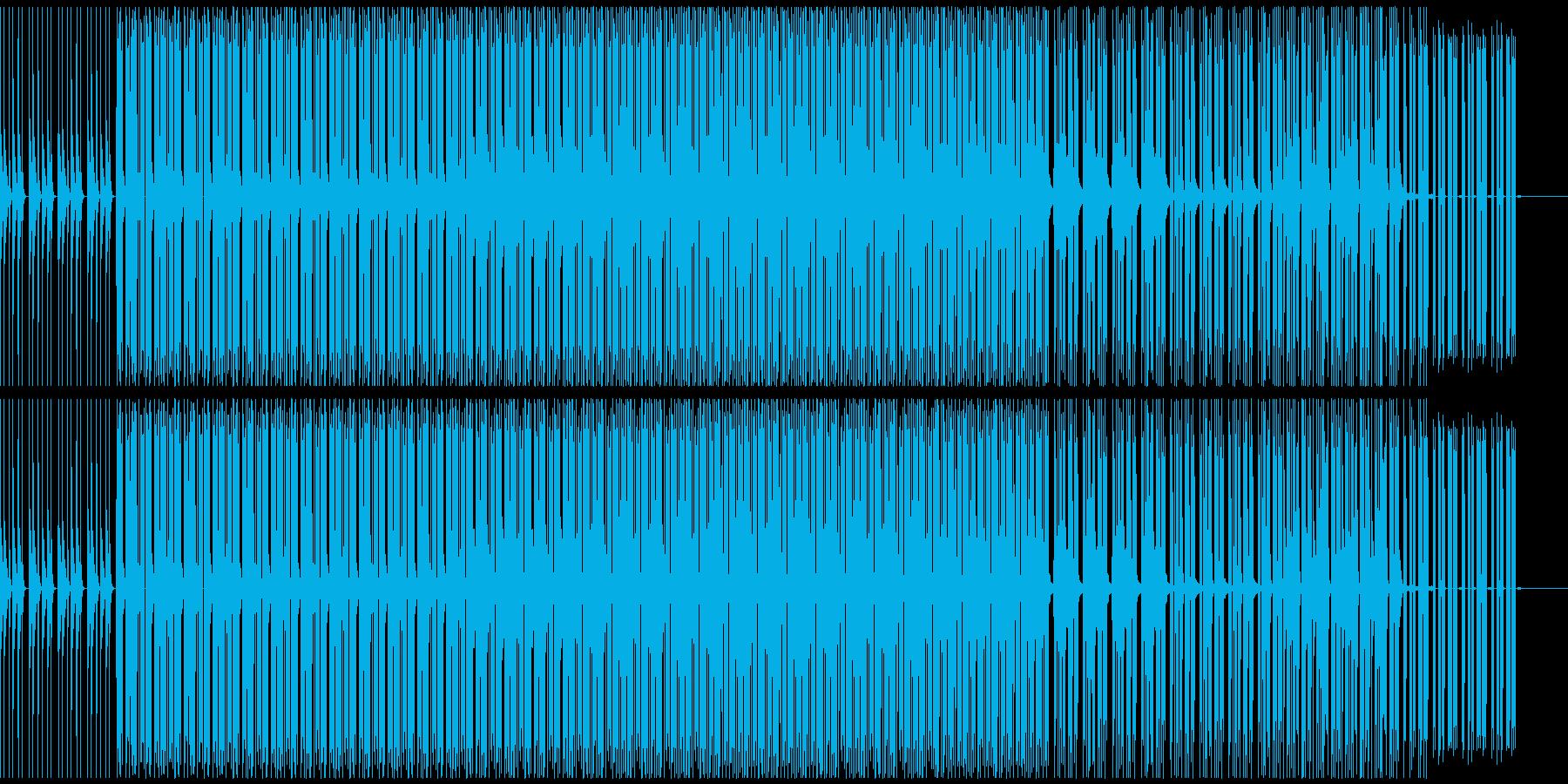 スローでダウナーなの再生済みの波形