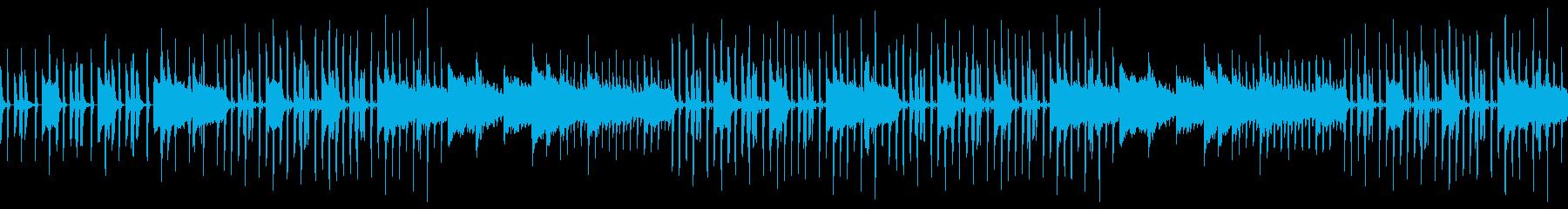 ストリングスピアノの前向きソウルポップスの再生済みの波形