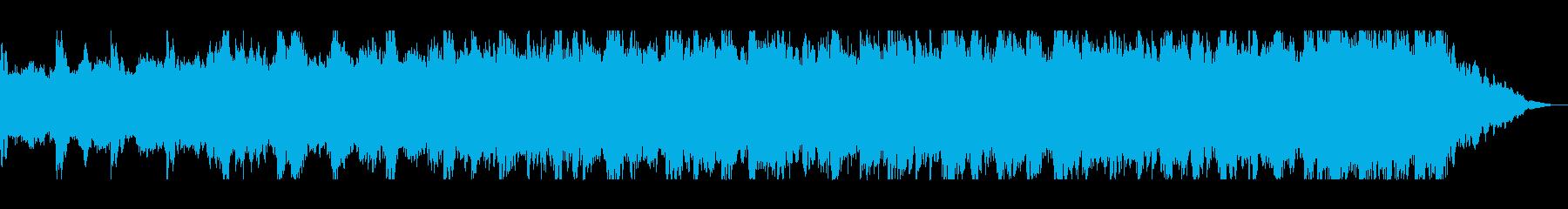 オーケストラのダイナミックサウンドの再生済みの波形
