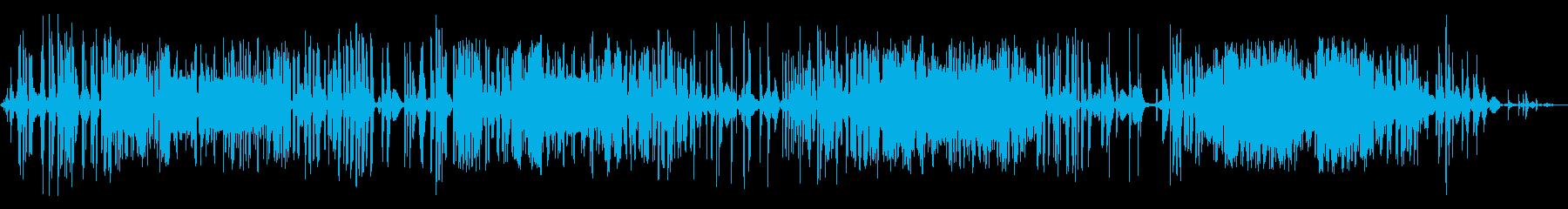 中周波リッピングフェーズ通信干渉の再生済みの波形