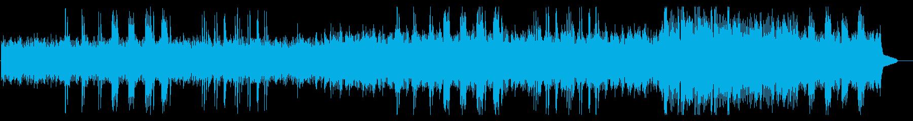 静かな喜びに包まれるヒーリングピアノ曲の再生済みの波形