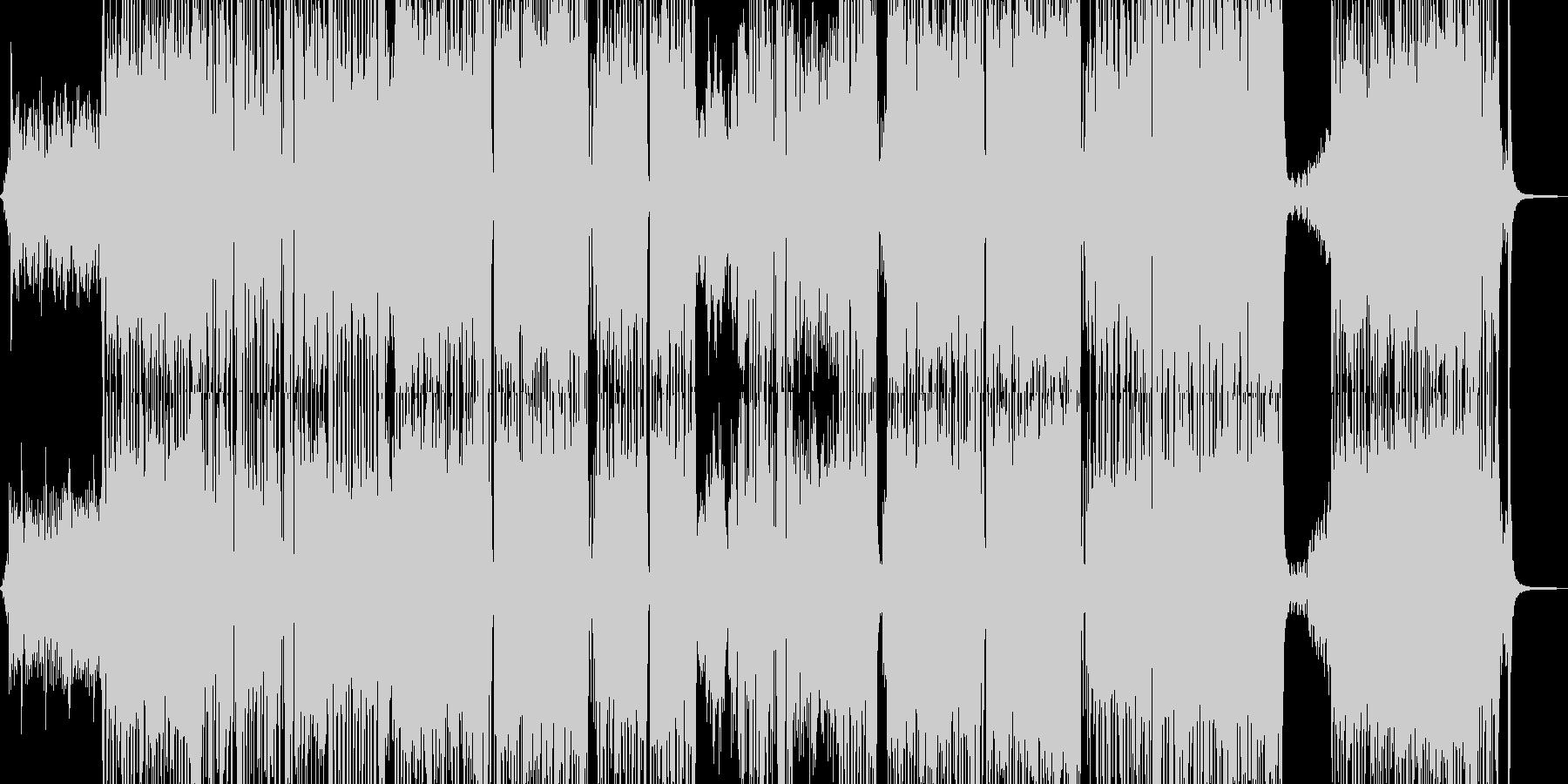 胸キュン・可愛いテクノポップ 長尺+の未再生の波形