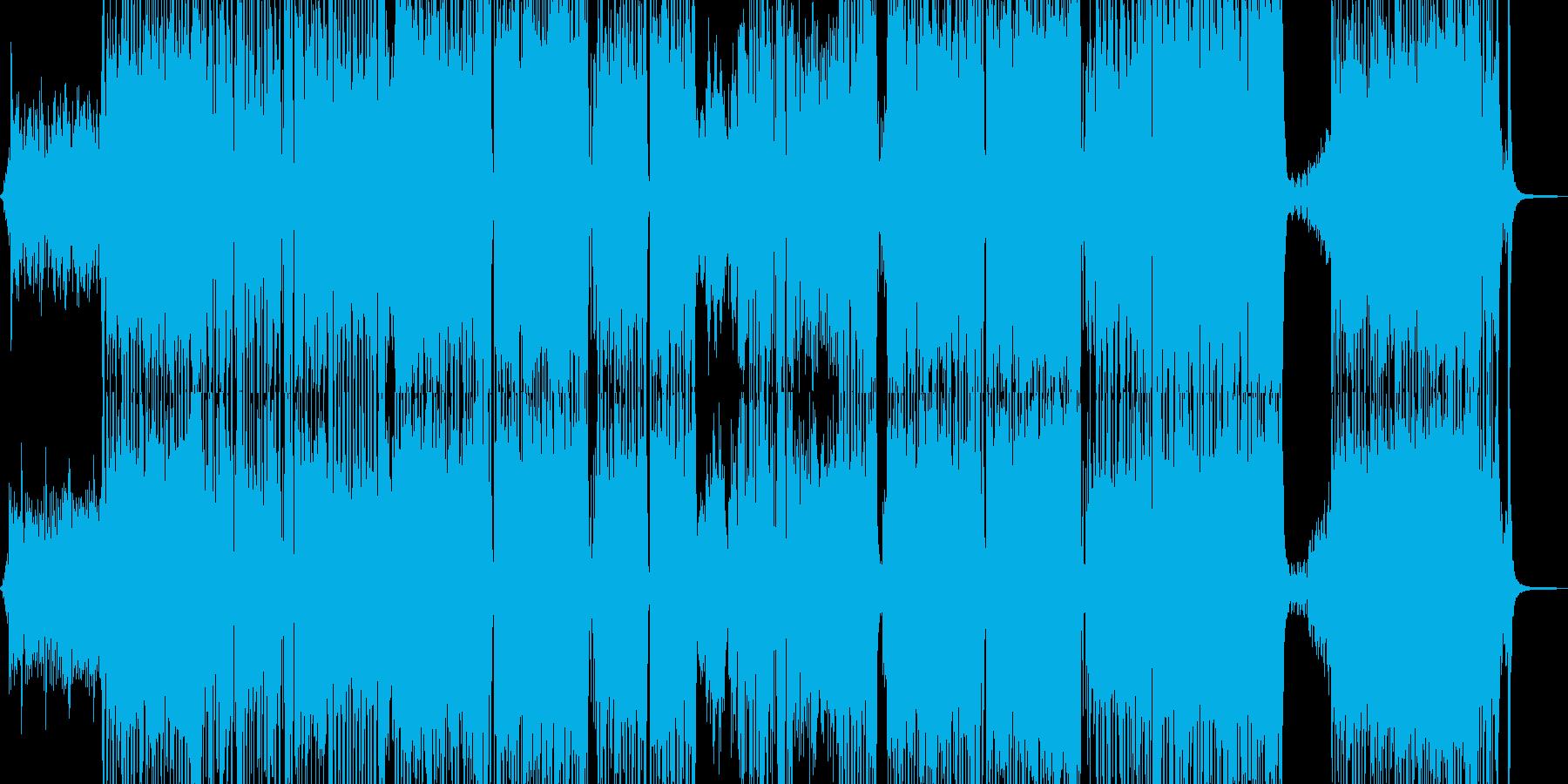 胸キュン・可愛いテクノポップ 長尺+の再生済みの波形