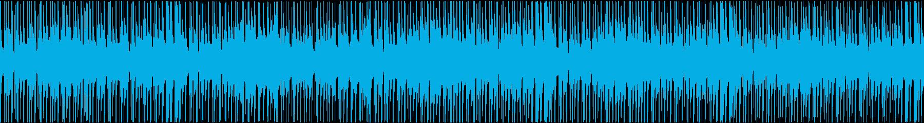 尺八と琴エレクトロの再生済みの波形