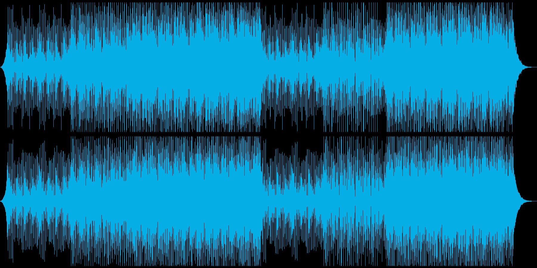 明るい企業のやる気を起こさせる音楽の再生済みの波形
