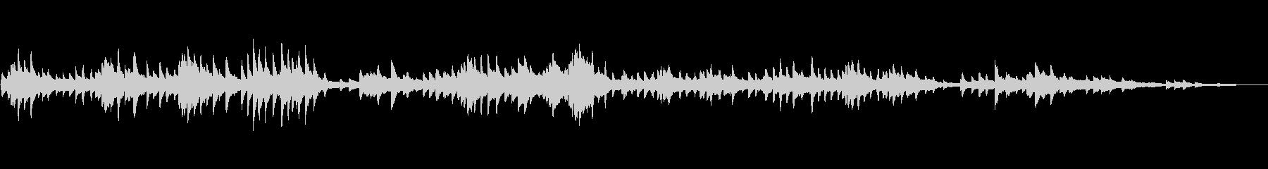 ショパン24の前奏曲第6番ロ短調の未再生の波形