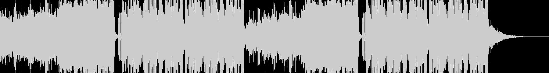 ダブステップ風の未再生の波形