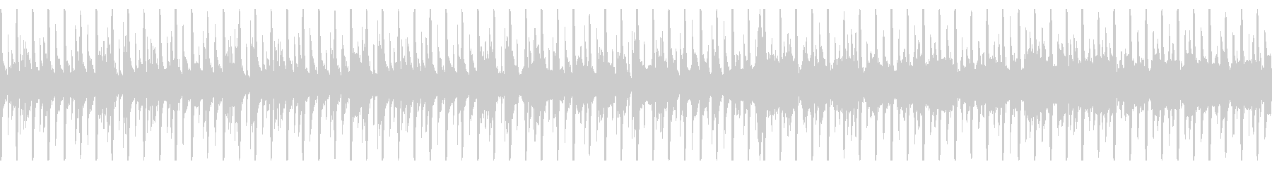 ほのぼのまったりとした日常のBGMの未再生の波形