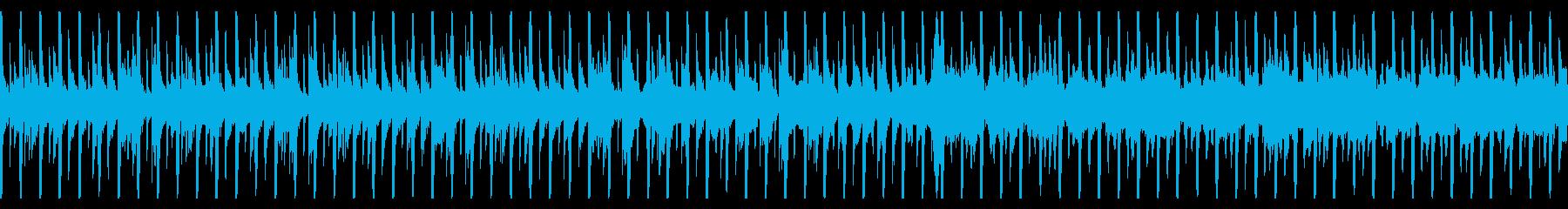 ほのぼのまったりとした日常のBGMの再生済みの波形