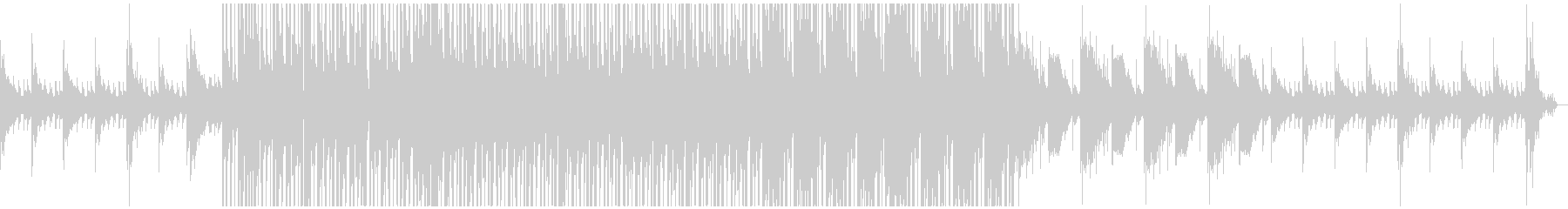 ローファイっぽい曲を目指しましたの未再生の波形
