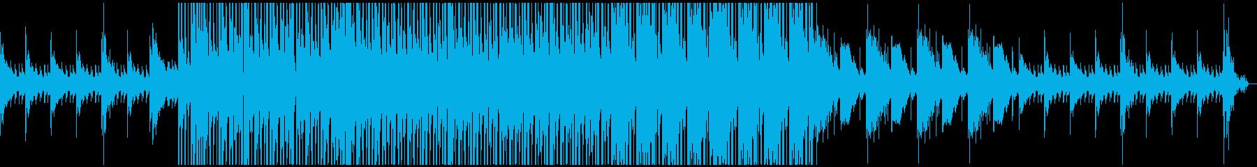 ローファイっぽい曲を目指しましたの再生済みの波形