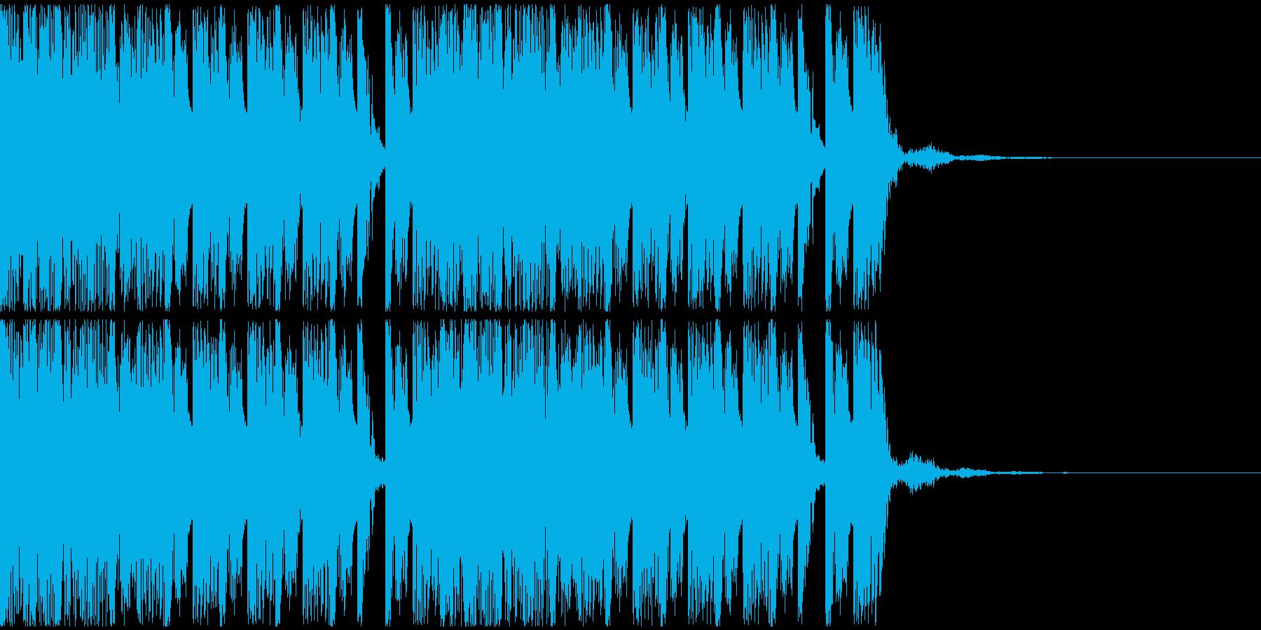 【EDM】トランス、ロング8、ショート3の再生済みの波形